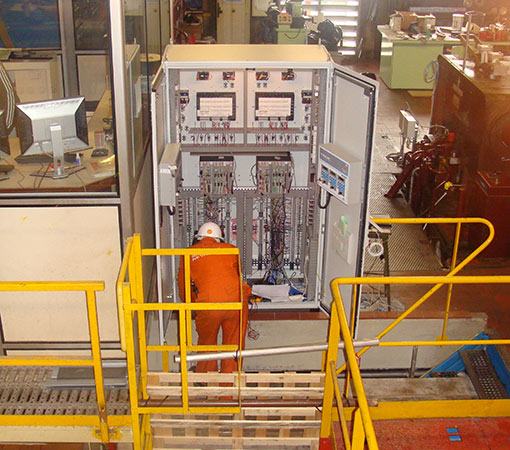 Modernisation de systèmes contrôle dans une armoire de contrôle