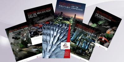 Support AWF et Brochures sur turbines et moteurs
