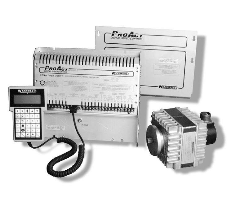 Système de régulation numérique de vitesse ProAct 1&2