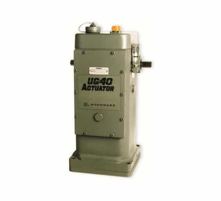 Régulateurs de vitesse du type UG 40 Actuator