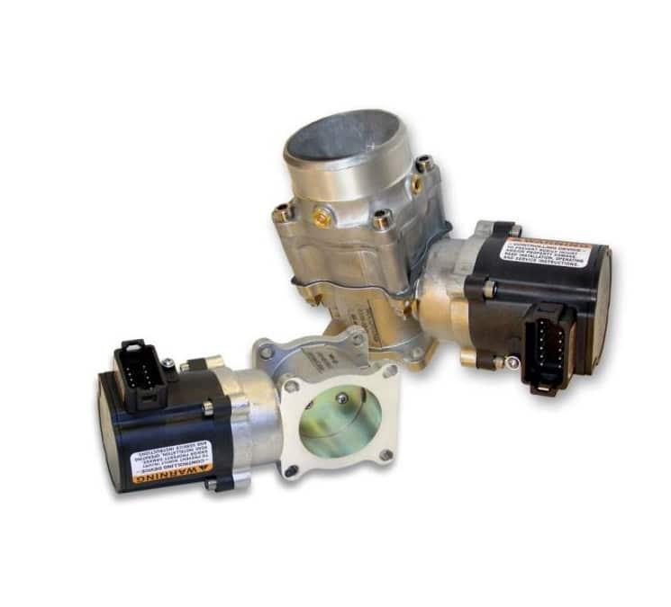 Boîtier électronique LC 50 en complément de vannes Woodward