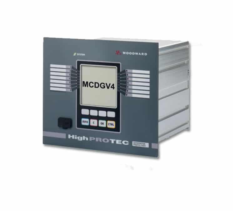 Module auxiliaire MCDGV 4 de Woodward