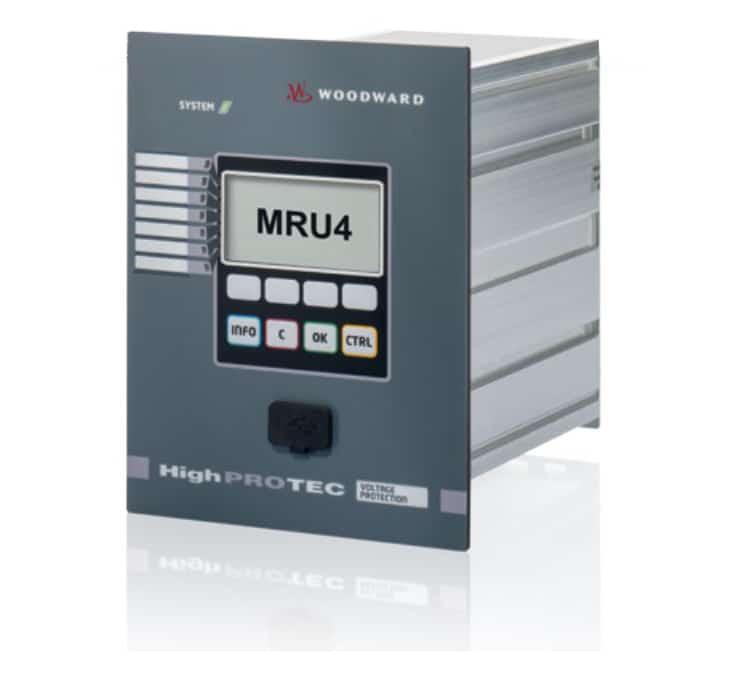 Module auxiliaire MRU 4 de Woodward