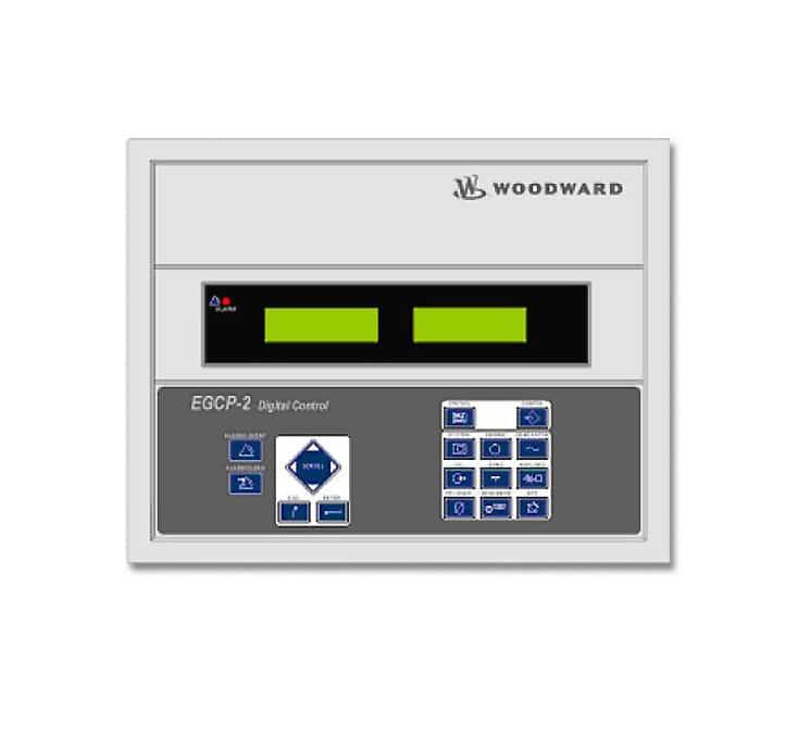 Système de contrôle EGCP 2 de Woodward pour groupes électrogènes