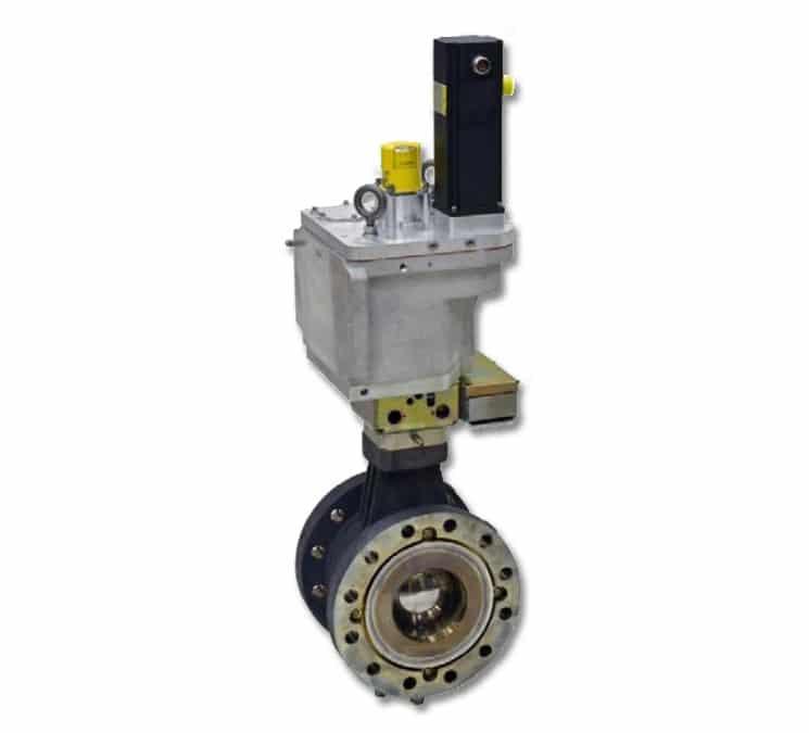 Vanne gaz Rotary Control Valve (GSxE) de Woodward