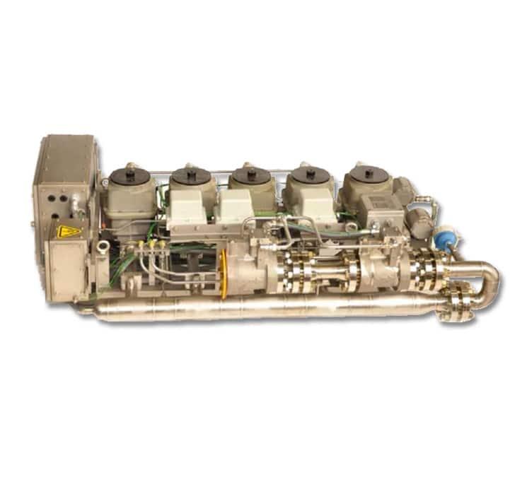Vanne gaz DLE de Woodward pour turbines à gaz