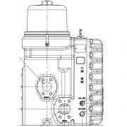 Connexions hydrauliques du VariStroke-II
