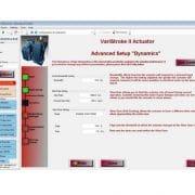 Assistant de configuration du variStroke II