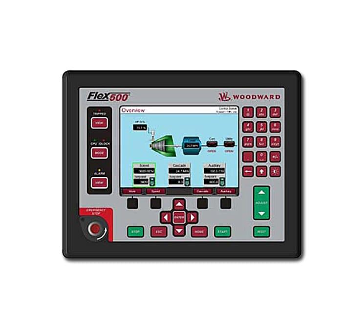Control Interface Studio de Woodward pour un environnement de développement d'interface graphique de contrôle turbines