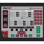 Ecran du Flex500 affichant les paramètres du DSLC2