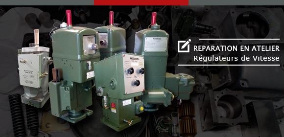 Réparation en atelier de régulateurs de vitesse